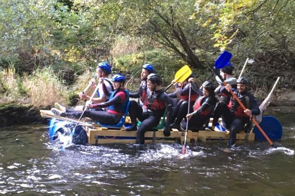 Pathfinder Homes Team Raft Racing