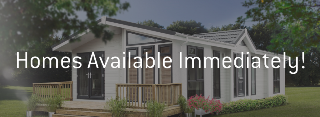 Park Homes & Lodges Available for immediate collection