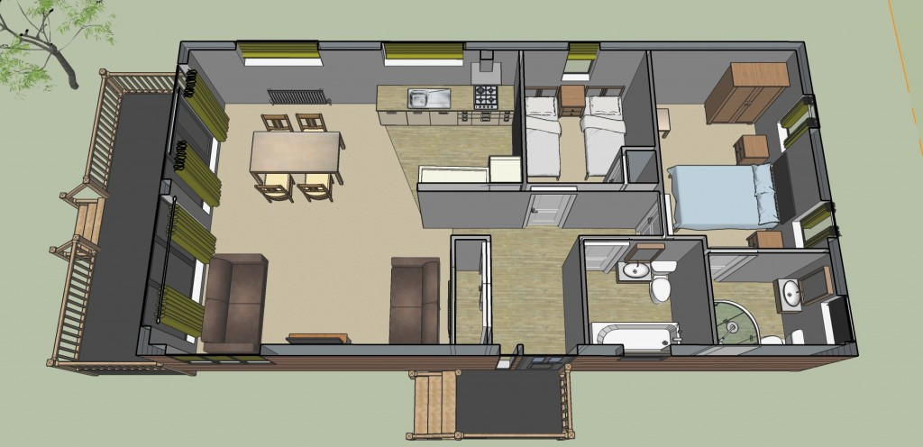 The View Floor plan