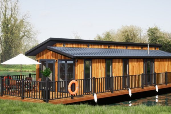 Devizes Marina, Floating Lodge