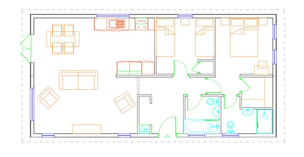 The Tor - Twin Floor Plan